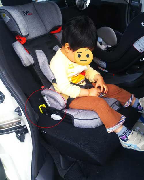 子供がチャイルドシートに乗らない時の対策