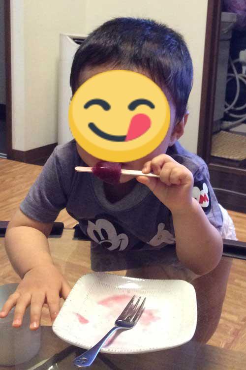 2歳9ヶ月の子どものおやつ(お菓子)