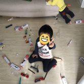 長男が4歳になりました!性格、勉強、食生活、オムツ事情は?